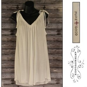 3/30<>Draped Toga Tunic by Pure + Good for Anthro